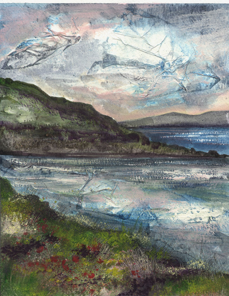 Dandelion Designs:- Cathy Myhilll - Blustery Day, Lochbay