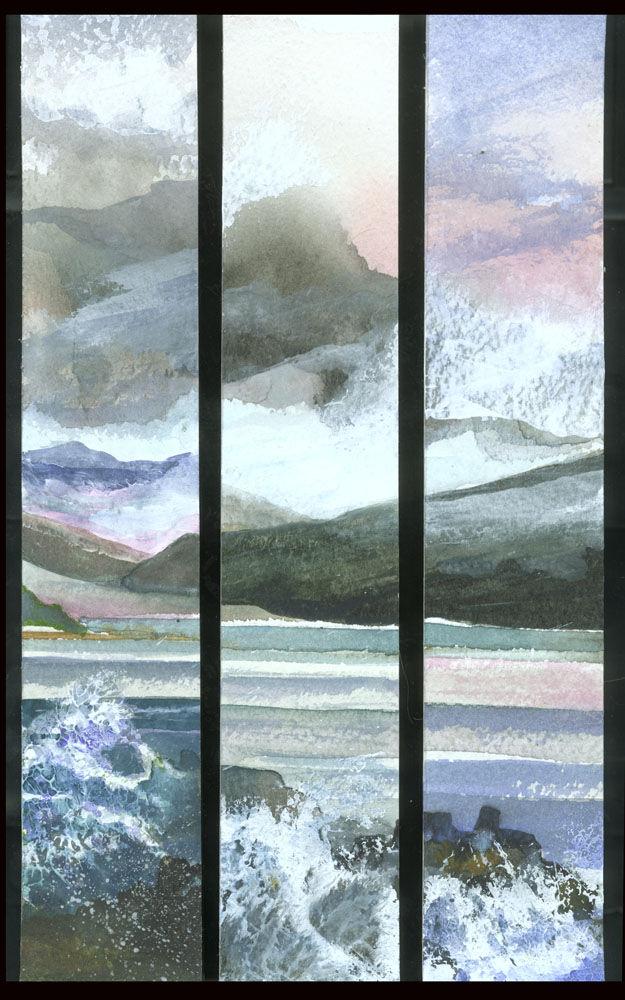 Dandelion Designs:- Cathy Myhilll - Breaking Waves