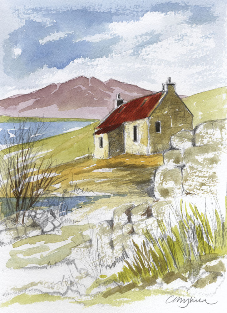 Dandelion Designs:- Cathy Myhilll - Cottage by the Sea