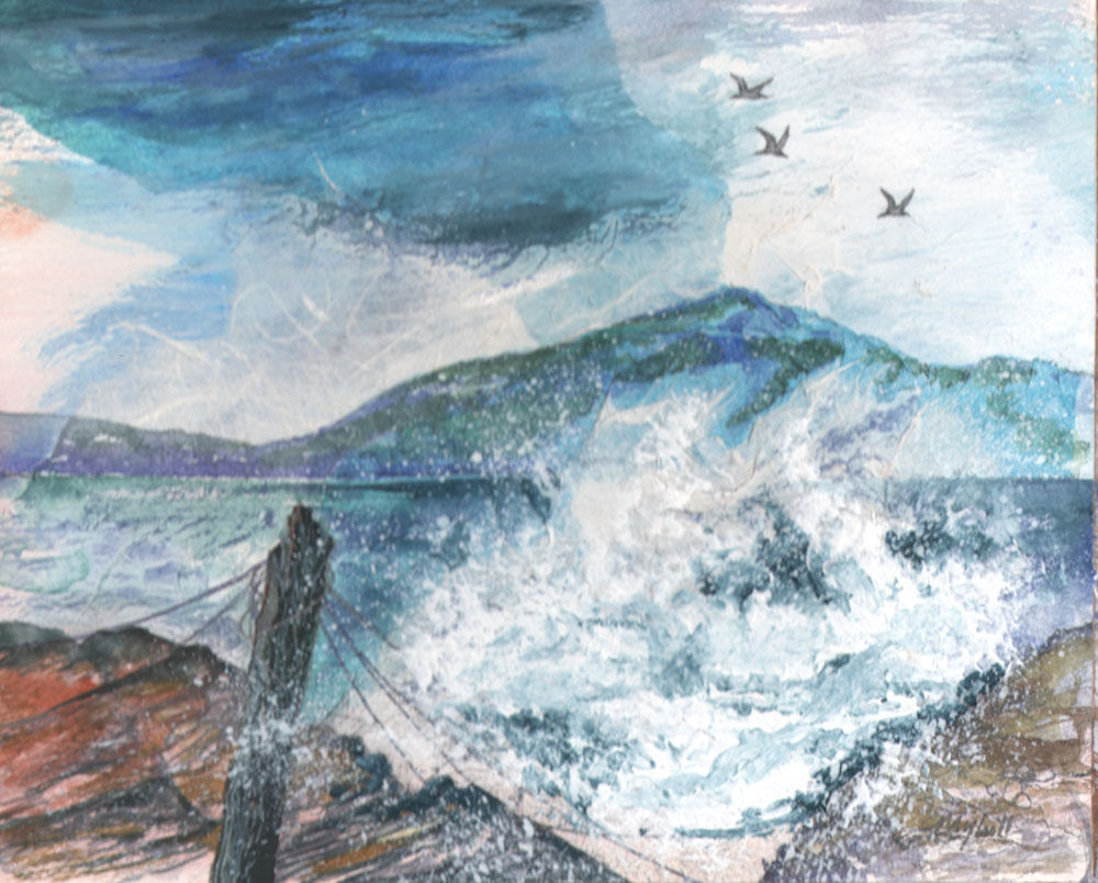 Dandelion Designs:- Cathy Myhilll - Crashing Wave