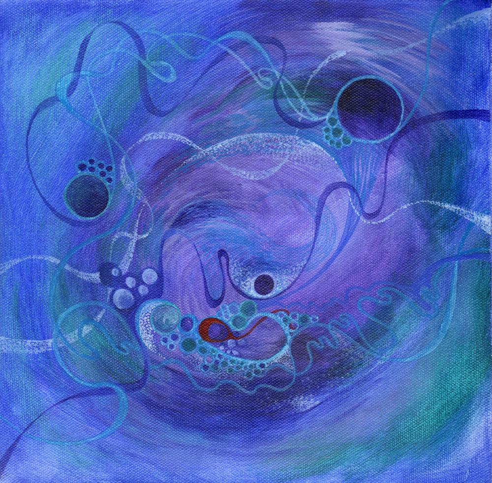 Dandelion Designs:- Cathy Myhilll - Deep Pool