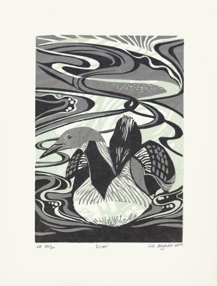 Dandelion Designs - Liz Myhill: Diver £90
