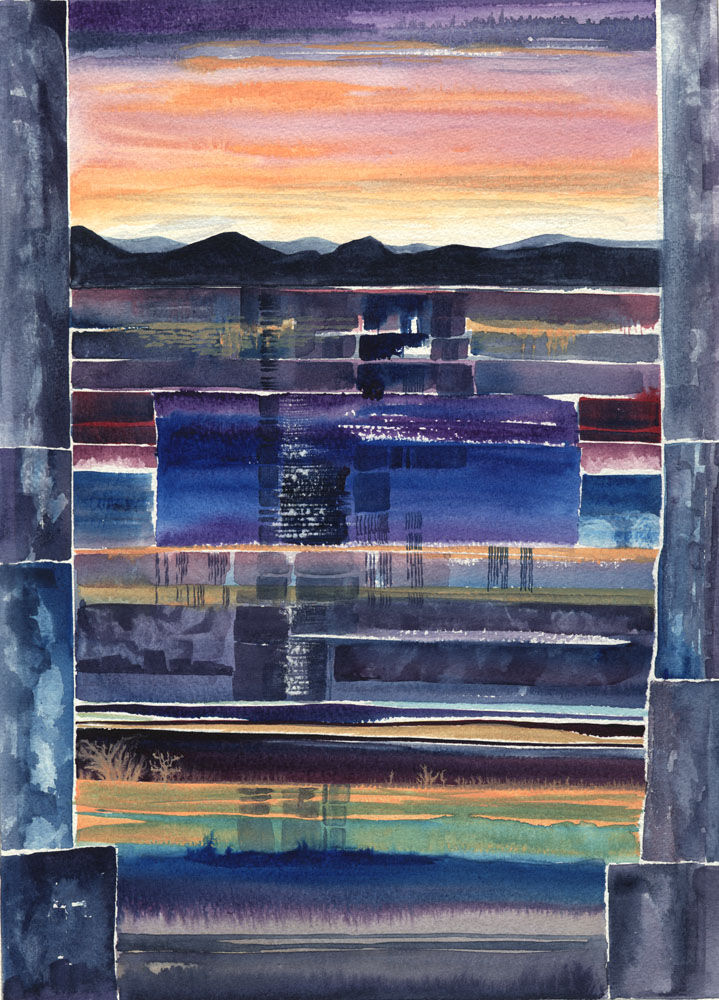 Dandelion Designs:- Cathy Myhilll - Dusk Reflections