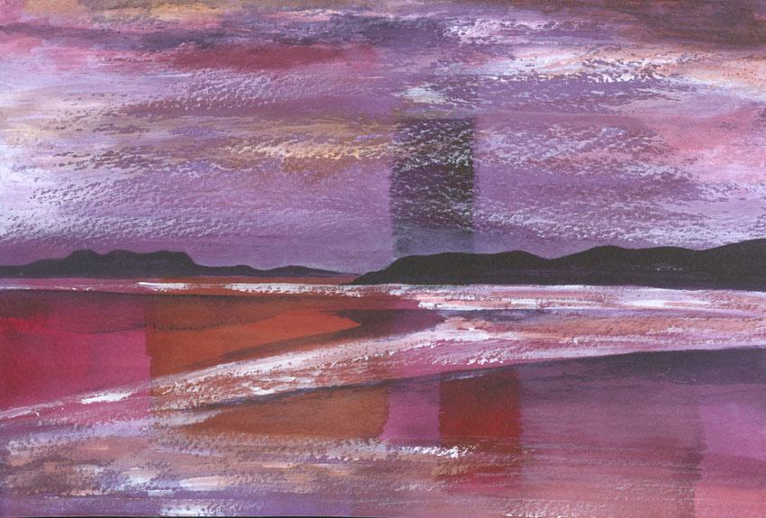 Dandelion Designs:- Cathy Myhilll - Evening Light (Framed) £150
