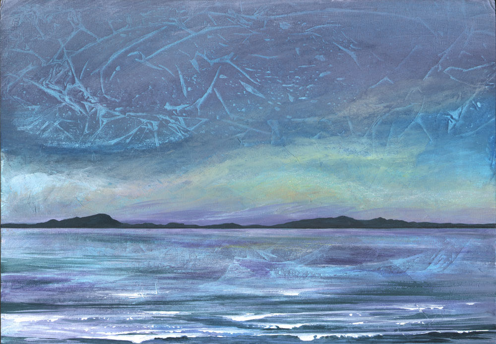 Dandelion Designs:- Cathy Myhilll - Gentle Waves across the Minch