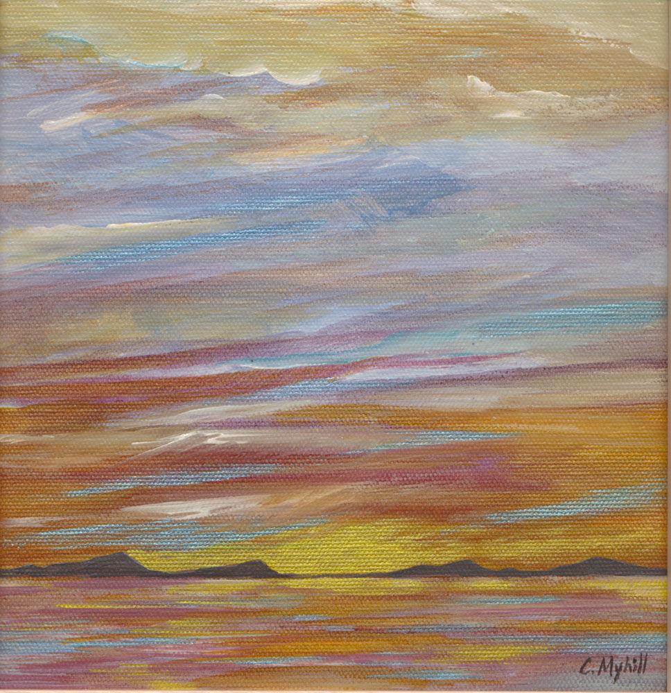 Dandelion Designs:- Cathy Myhilll - Golden Sunset