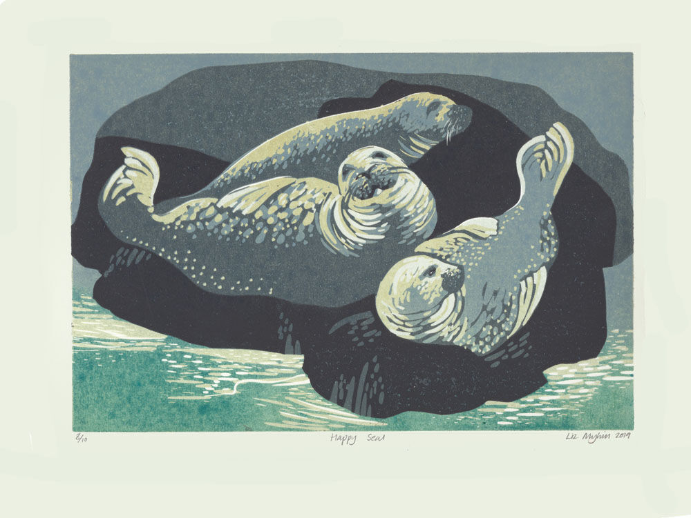 Dandelion Designs - Liz Myhill: Happy Seal £140