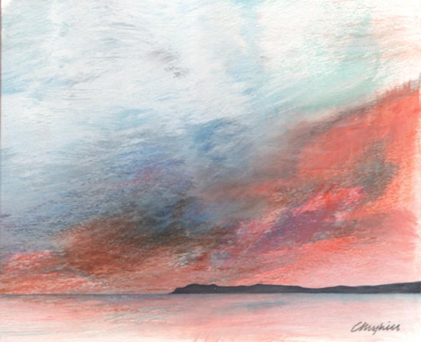 Dandelion Designs:- Cathy Myhilll - Headland (Framed) £200
