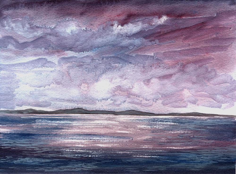 Dandelion Designs:- Cathy Myhilll - Hebridean Sky