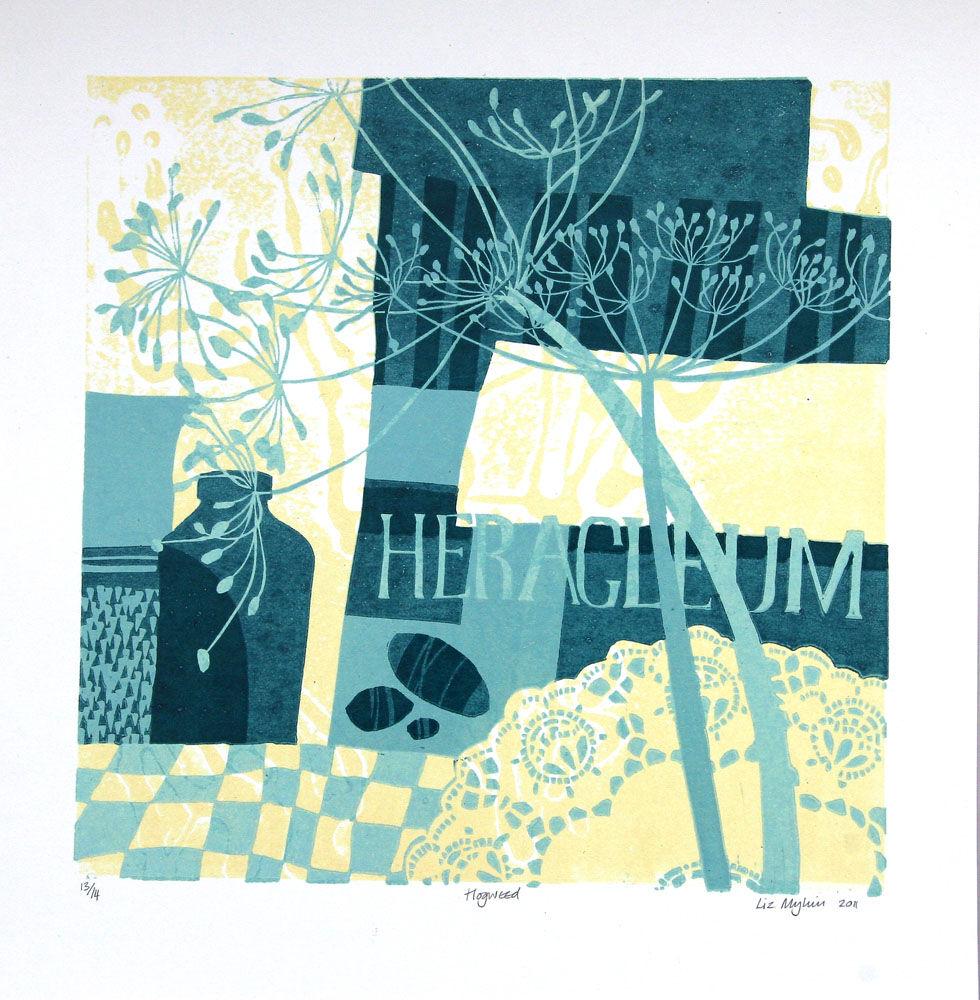 Dandelion Designs - Liz Myhill: Hogweed £160