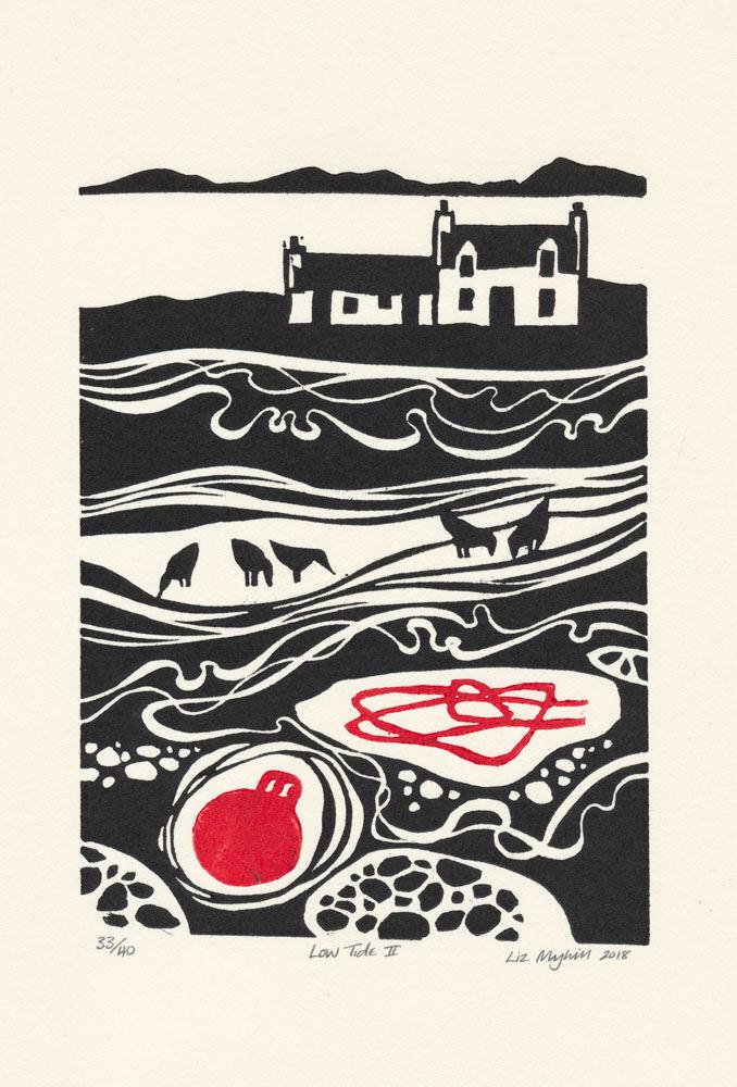 Dandelion Designs - Liz Myhill: Low Tide II £60