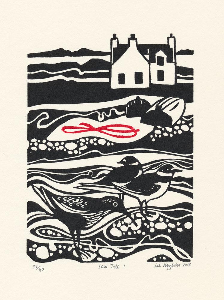 Dandelion Designs - Liz Myhill: Low Tide I £60