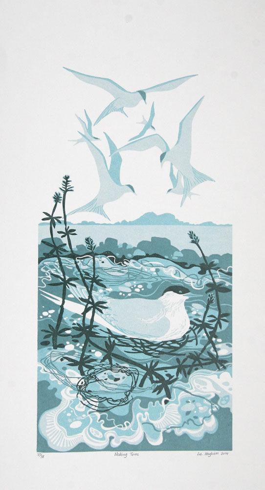 Dandelion Designs - Liz Myhill: Nesting Tern £160