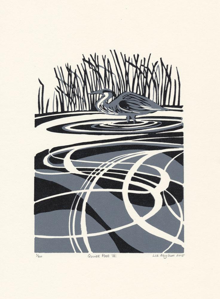 Dandelion Designs - Liz Myhill: Quiet Pool II £90