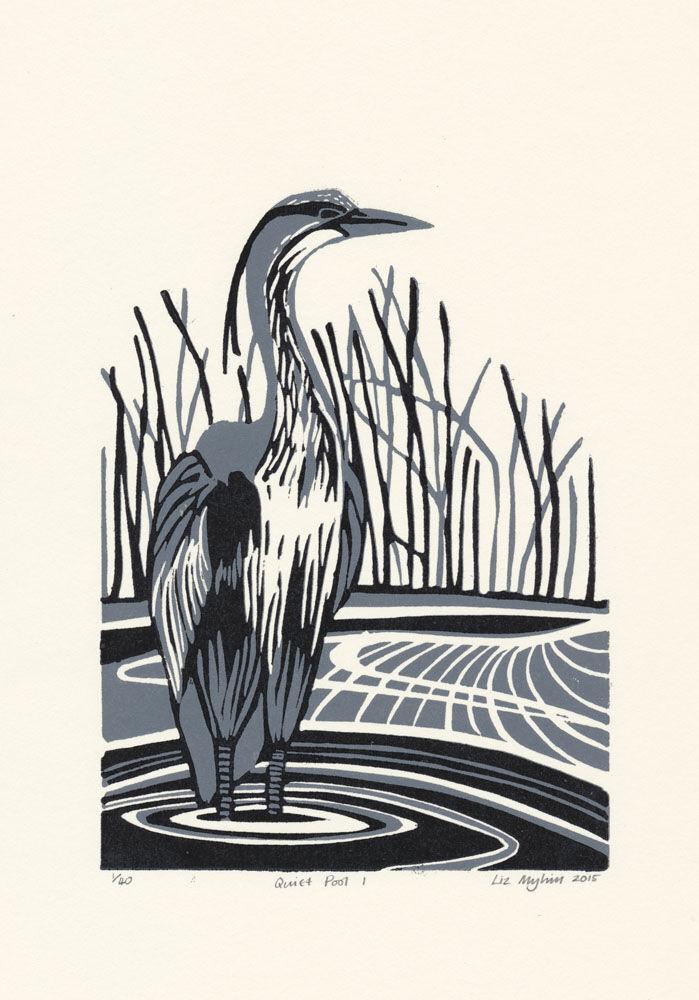 Dandelion Designs - Liz Myhill: Quiet Pool I £90