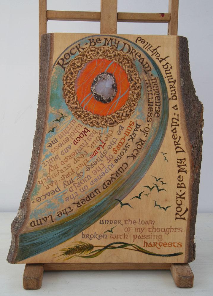 Dandelion Designs:- Cathy Myhilll - Rock be My Dream