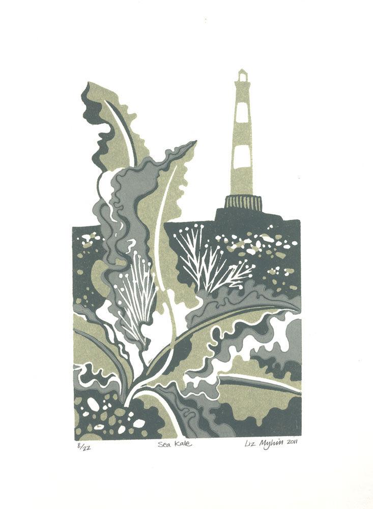 Dandelion Designs - Liz Myhill: Sea Kale £90