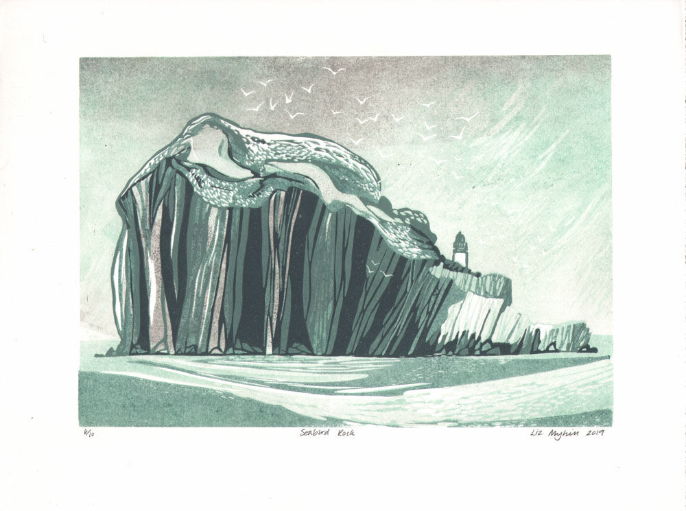 Dandelion Designs - Liz Myhill: Seabird Rock £140