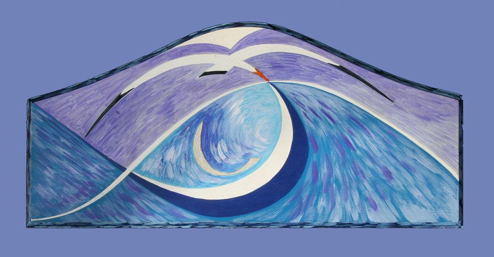 Dandelion Designs:- Cathy Myhilll - Silver Fish