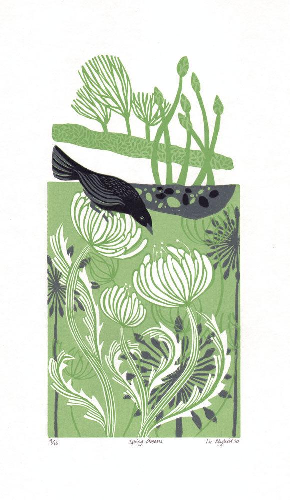Dandelion Designs - Liz Myhill: Spring Greens £140