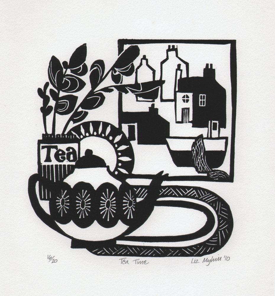 Dandelion Designs - Liz Myhill: Tea Time £60