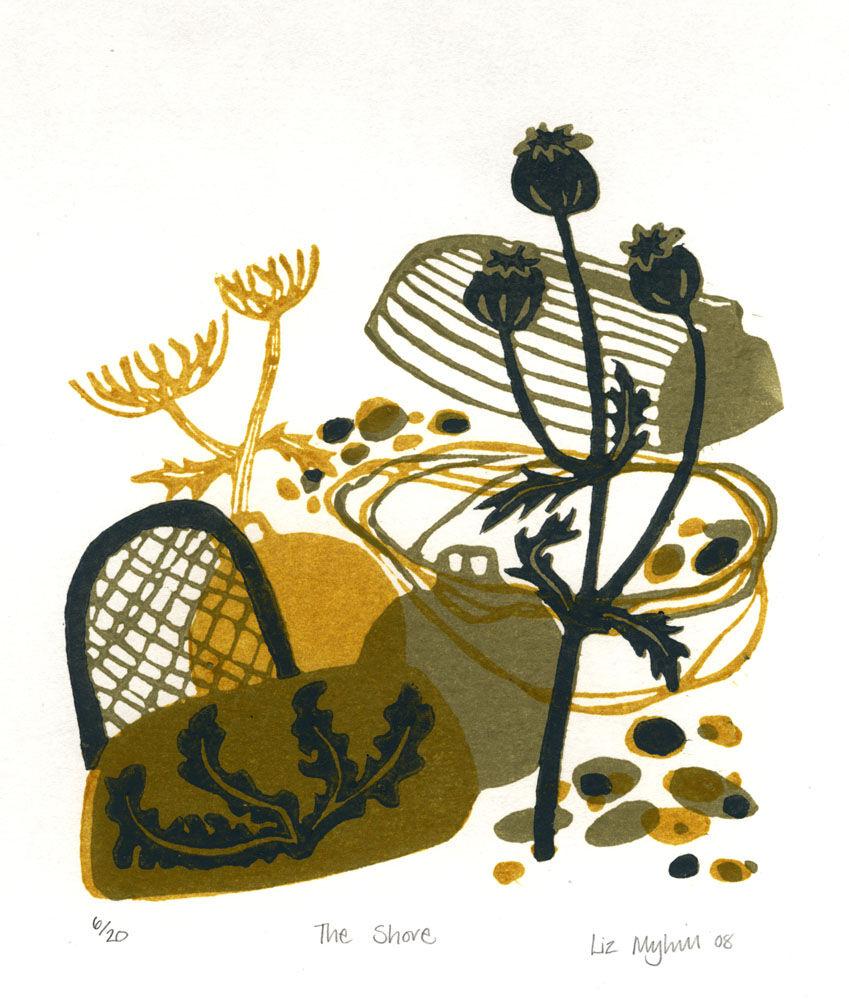 Dandelion Designs - Liz Myhill: The Shore £90