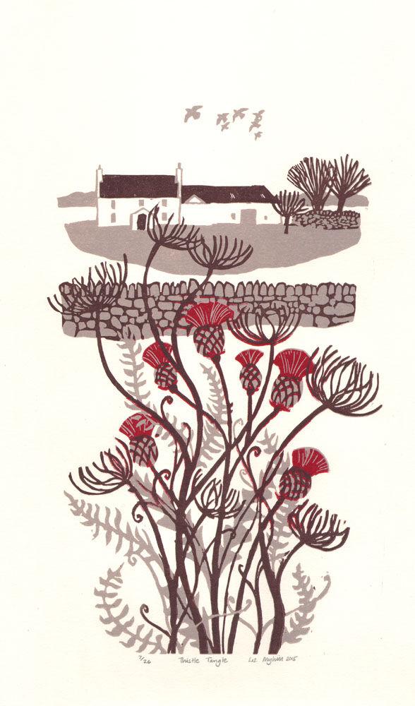 Dandelion Designs - Liz Myhill: Thistle Tangle £140