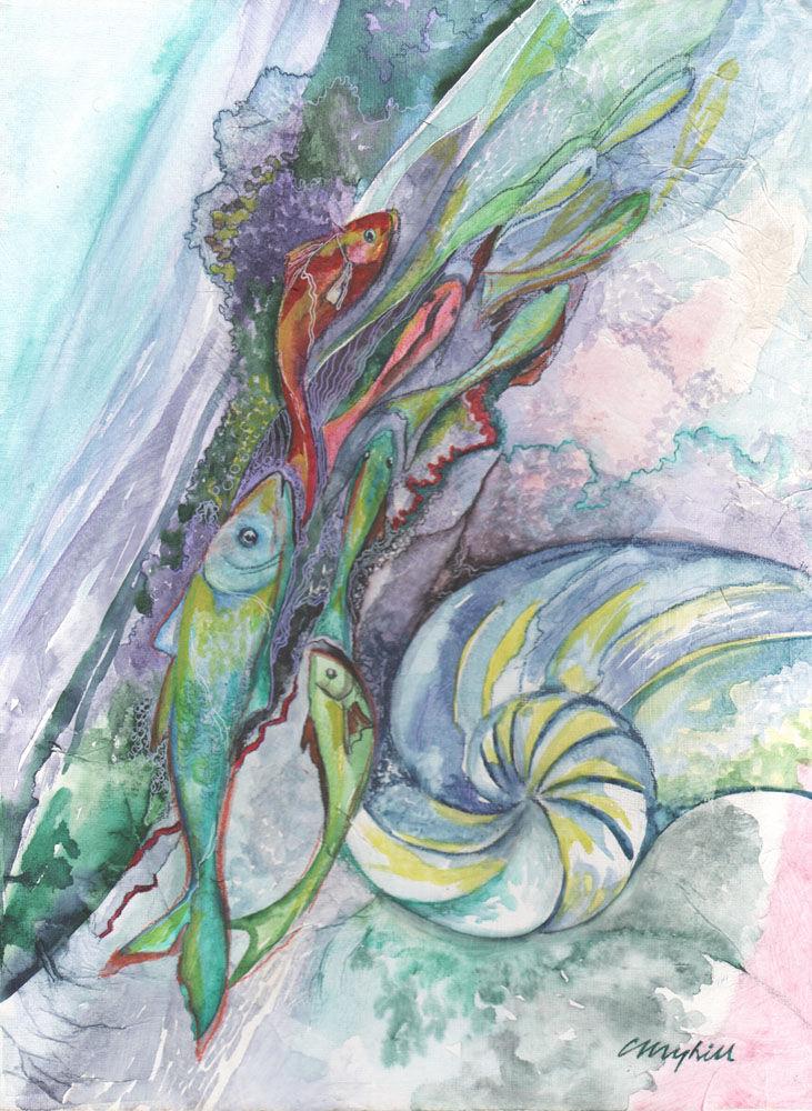 Dandelion Designs:- Cathy Myhilll - Upstream