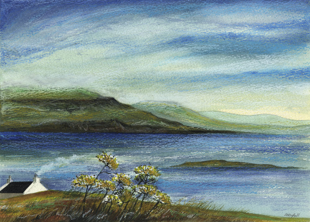 Dandelion Designs:- Cathy Myhilll - View from the Millers Cottage