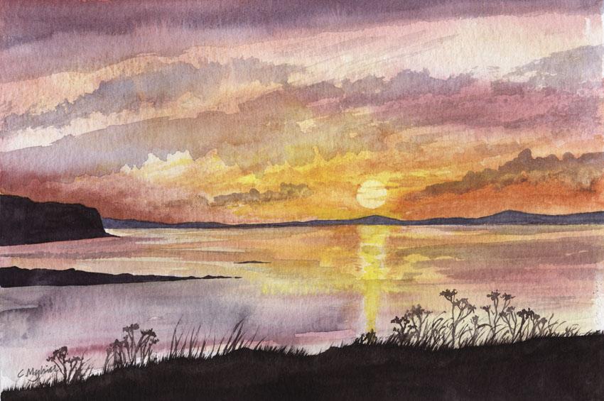 Waternish Sunset