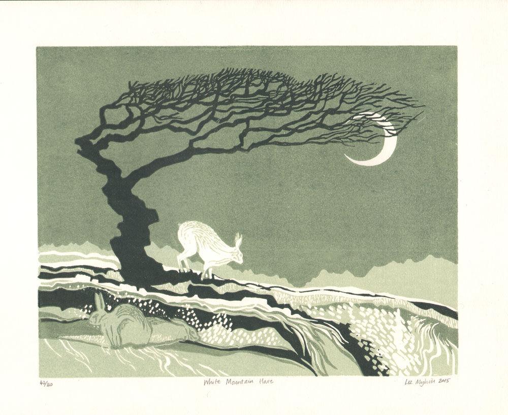 Dandelion Designs - Liz Myhill: White Mountain Hare £140