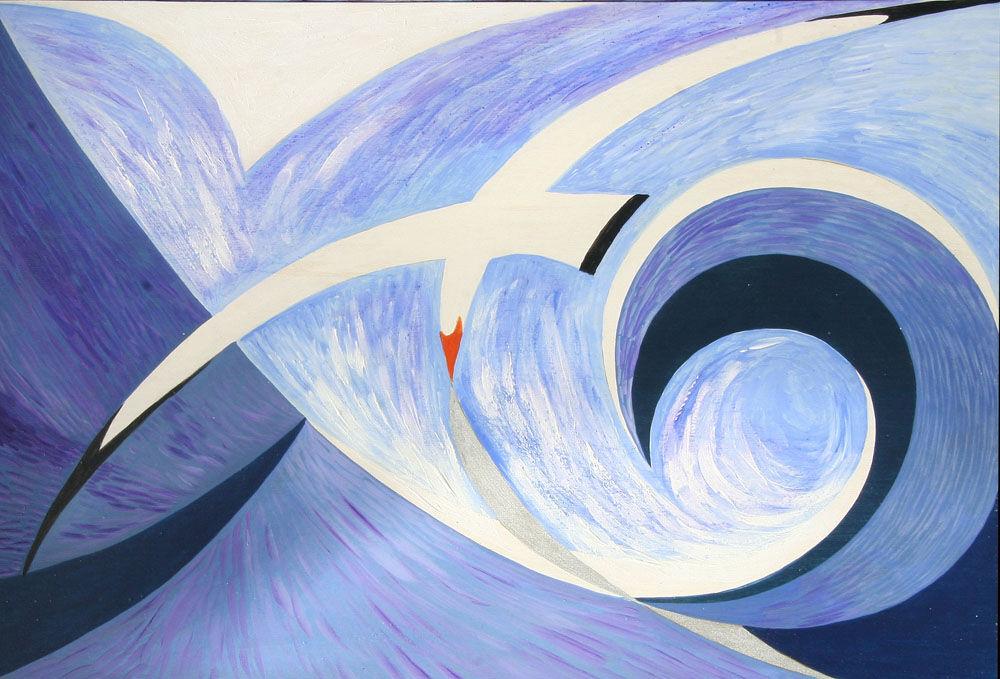 Dandelion Designs:- Cathy Myhilll - White Gull