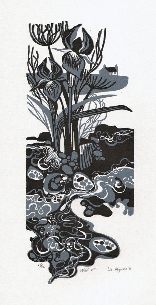 Dandelion Designs - Liz Myhill: Wild Iris £110