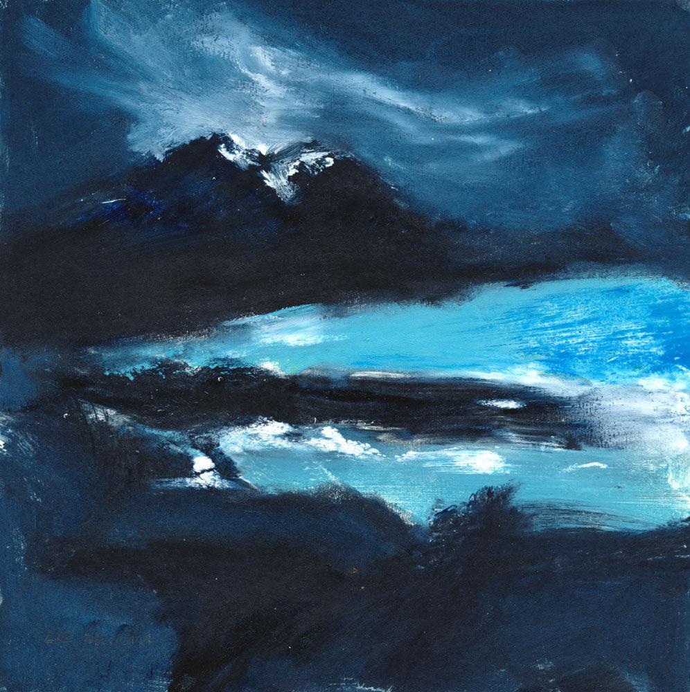 Dandelion Designs - Liz Myhill: Winter Nightfall £350