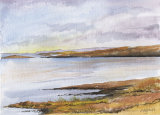 Winter Sunlight watercolour £175 25x18
