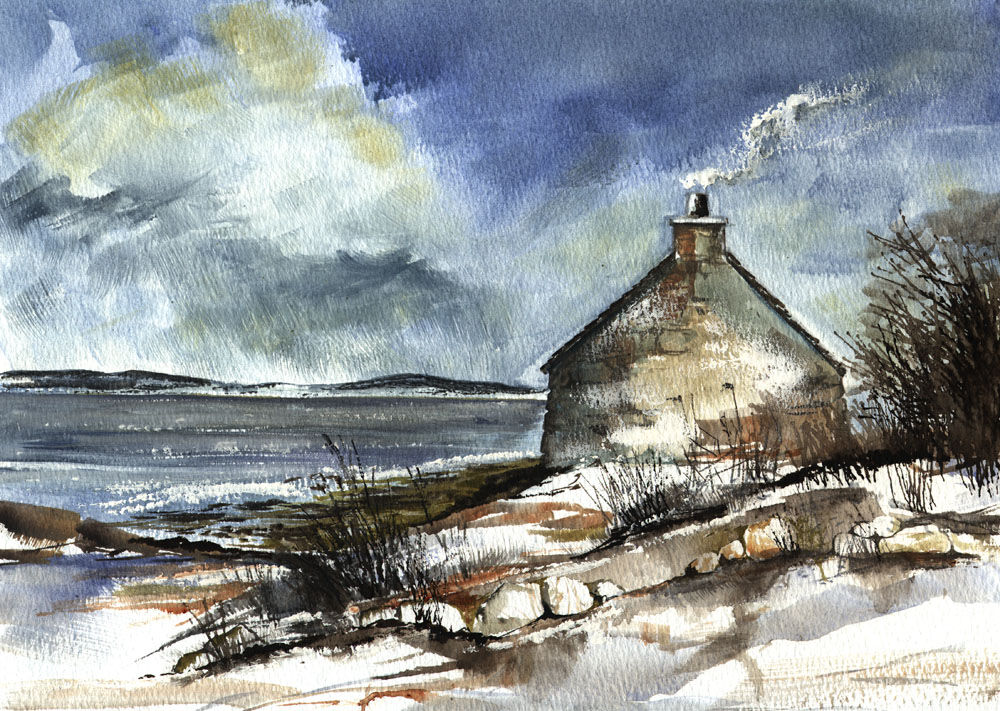 Dandelion Designs:- Cathy Myhilll - Winter by the Sea