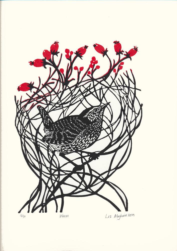 Dandelion Designs - Liz Myhill: Wren £60