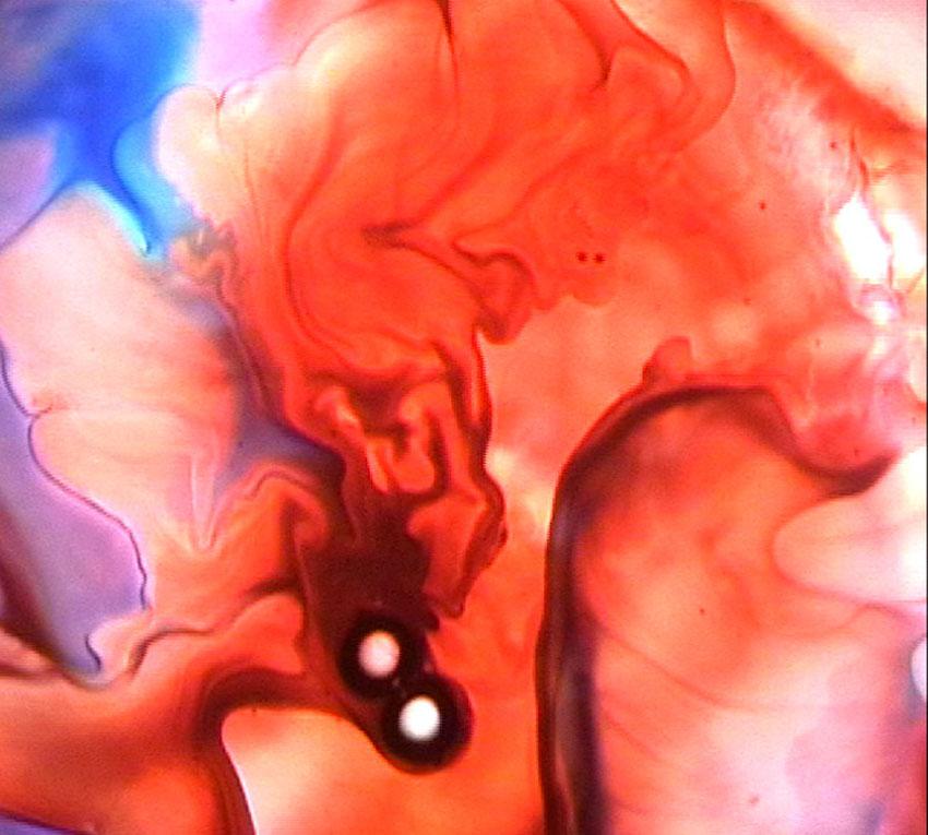 Still from video 'Liquid Light'