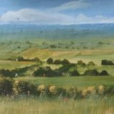 View from Glastonbury Tor 20X12 SOLD