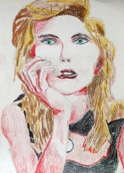 Chloe Grace Moretz, 6in x 8in, coloured pencil