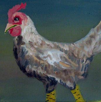 I am Dandy Thanks, oil on canvas, 20cm x 20cm