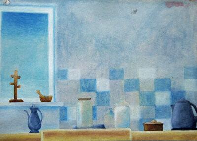 Kitchenalia, watercolour,11cm x 15cm
