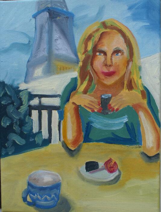 My Girl, oil on canvas, 30.5cm x 40.5cm, 24,09,2019
