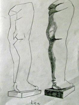 Plate 26. charcoal pencil, 24cm x  30.5cm