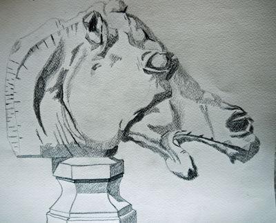 Plate 37. charcoal pencil, 24cm x  30.5cm