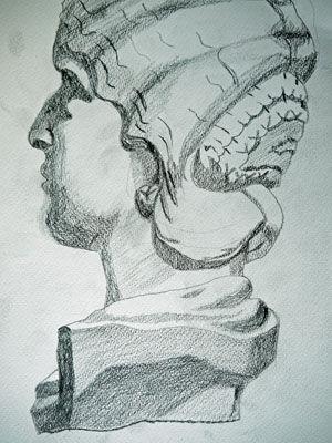 Plate 40. charcoal pencil, 24cm x  30.5cm