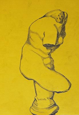 Plate 57. charcoal pencil, 24cm x 30.5cm