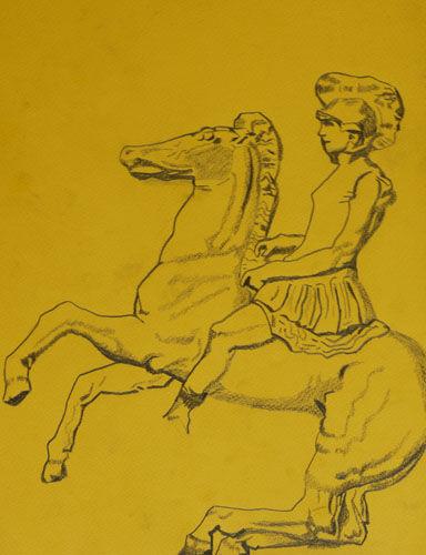 Plate 65. charcoal pencil, 24cm x  30.5cm