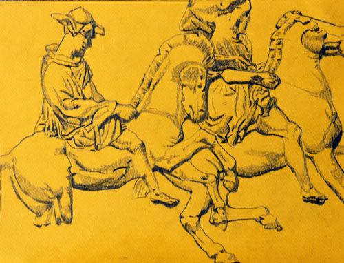 Plate 66. charcoal pencil, 24cm x 30.5cm