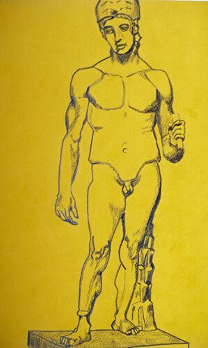 Plate 68. charcoal pencil, 24cm x 30.5cm